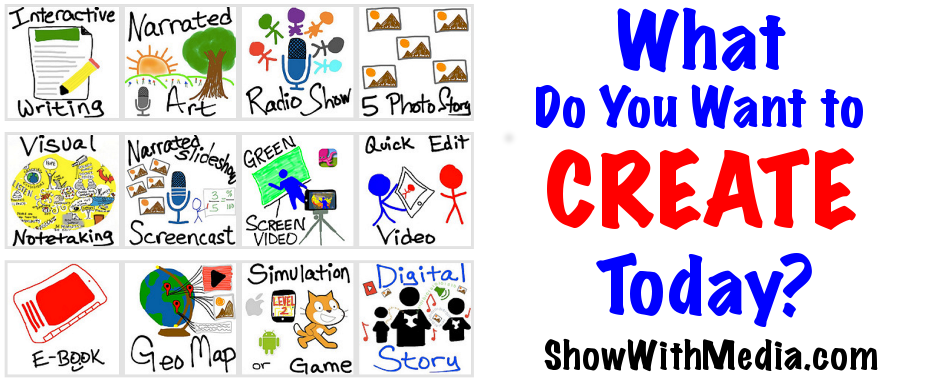 Show with Media: What Do You Want to CREATE Today?